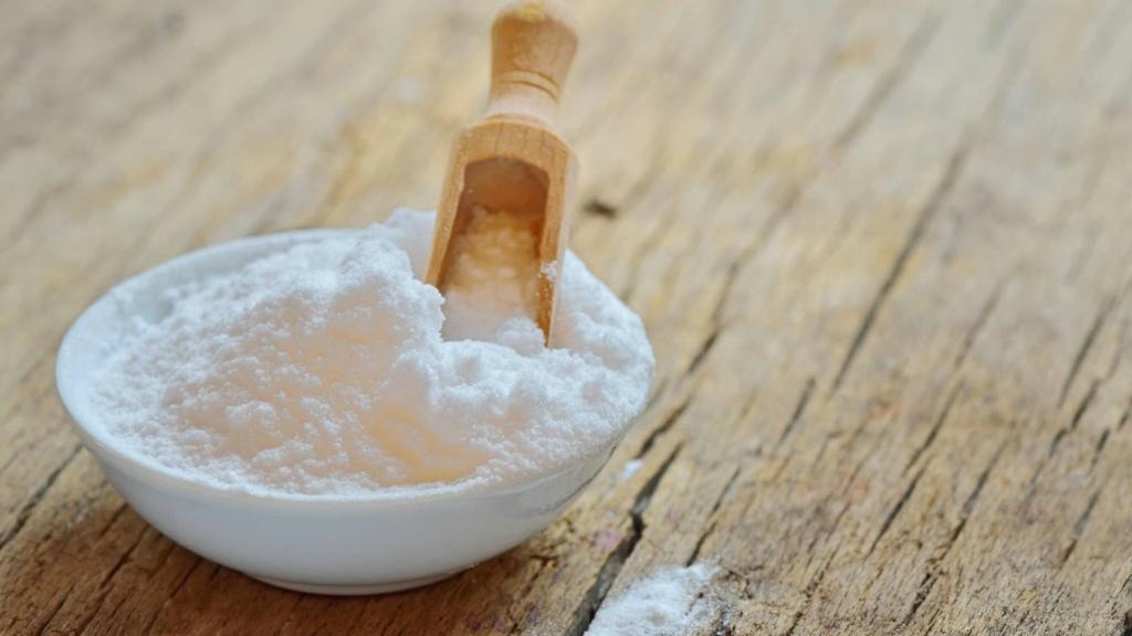 El bicarbonato de sodio evita la reproducción de hongos y bacterias